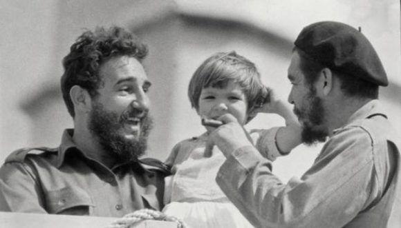 Che y Fidel. Foto: Archivo.