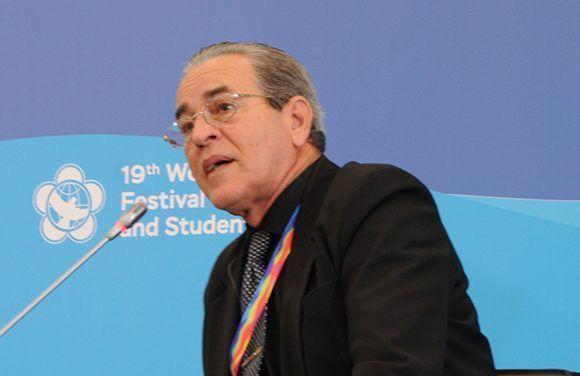 José Ramón Saborido, ministro de Educación Superior de Cuba. Foto: Luis Mario Rodríguez Suñol/ Cubadebate.