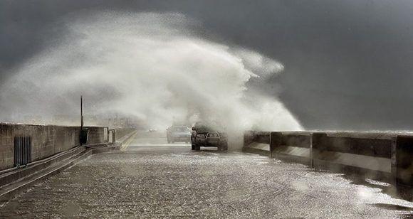 Inundaciones en Irlanda, al norte de Europa, debido a las influencias de Ofelia. Foto: Irish Times.
