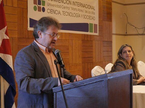 Dr C. Luis Antonio Barranco Olivera, Vicerrector de Investigación, Internacionalización y Postgrado de la UCLV