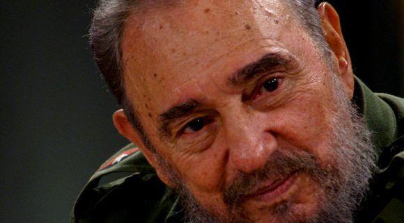 Retrato de Fidel. Foto: Ismael Francisco/ Cubadebate.