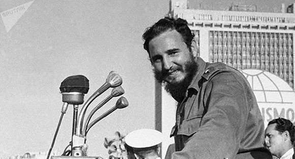 Fidel Castro Photo: Pavel Barashev / Spoutnik.