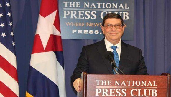 Canciller cubano: No existen pruebas de ataque sónico a diplomáticos de EEUU. Foto: Prensa Latina.