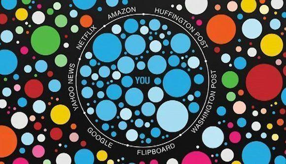 Cuando entramos en la burbuja de los filtros, permitimos a las empresas que la construyen elegir qué alternativas podemos considerar.