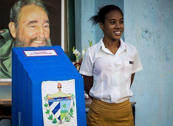 Elecciones en Cuba, proceso 2017-2018. Foto: Irene Pérez/ Cubadebate.