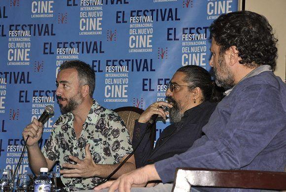 El Cigala durante una conferencia de prensa en el Hotel Nacional de Cuba. Foto: Raúl Medina/Cubahora