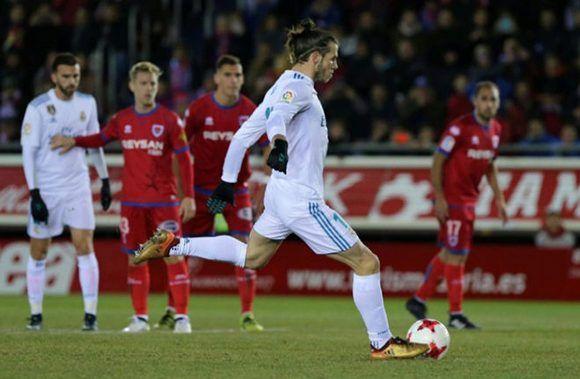 Bale volvió a marcar en Copa del Rey, cuatro años después. Su último gol había sido en la final que el Real Madrid ganó al FC Barcelona en Mestalla. Foto: AFP.