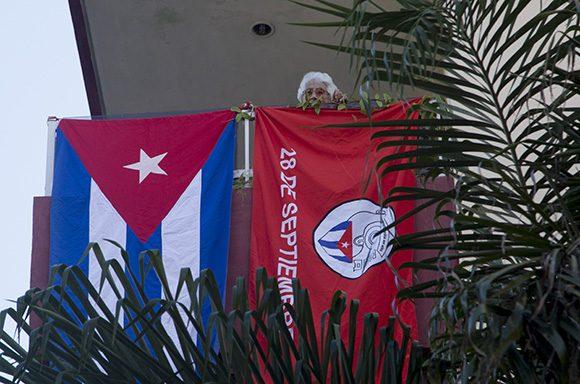 Aniversario 61 de los CDR. Foto: Ismael Francisco/ Cubadebate.