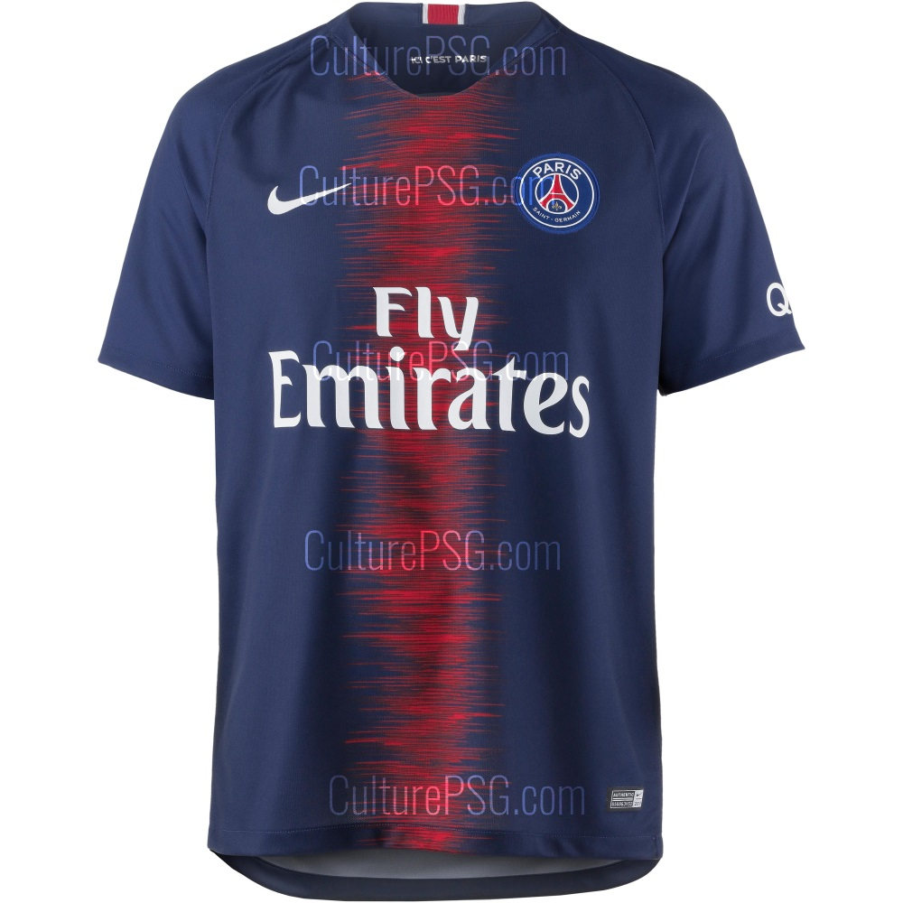 EN IMAGES Le Maillot Domicile 20182019 Du PSG VIPSG