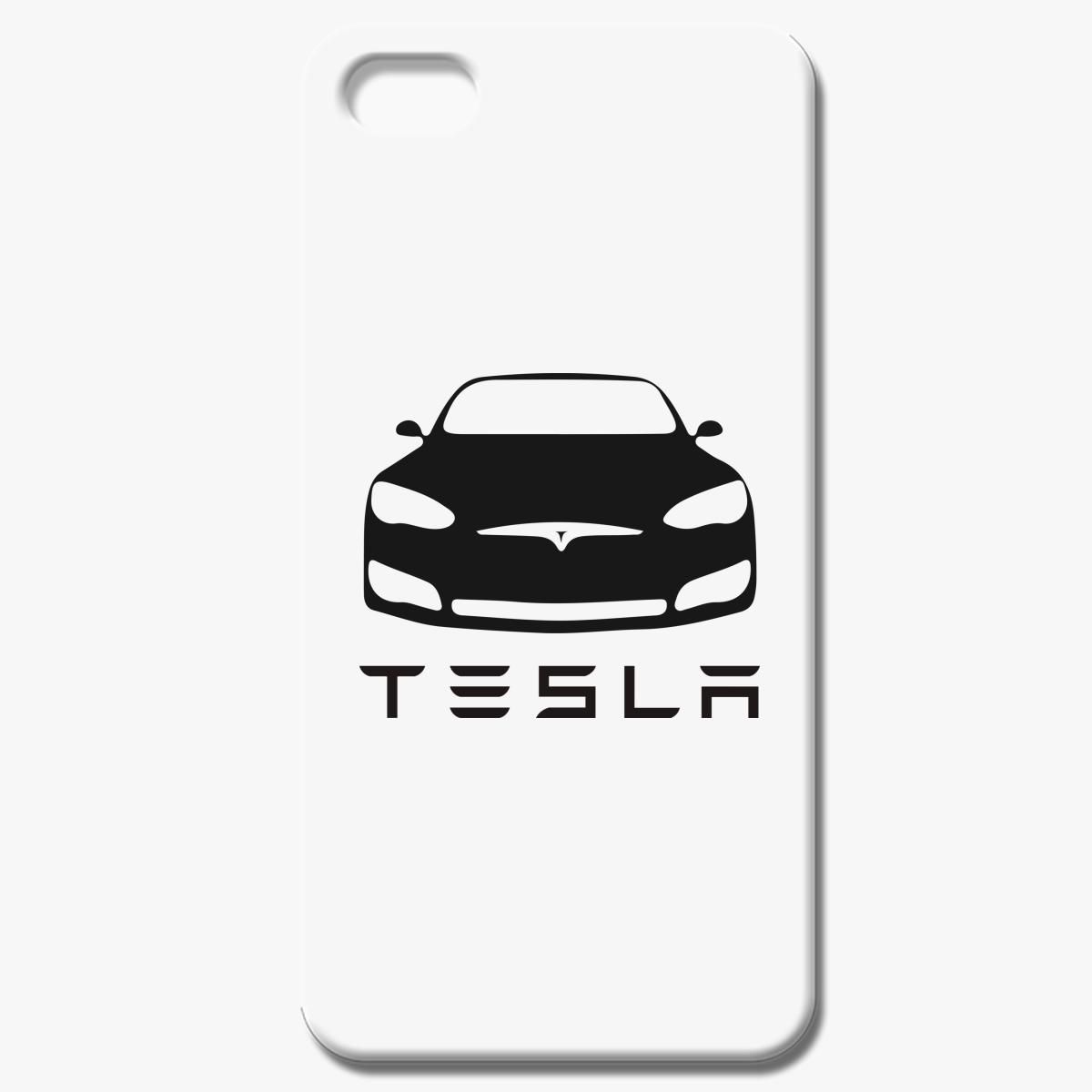 Tesla Car Black Iphone 7 Case