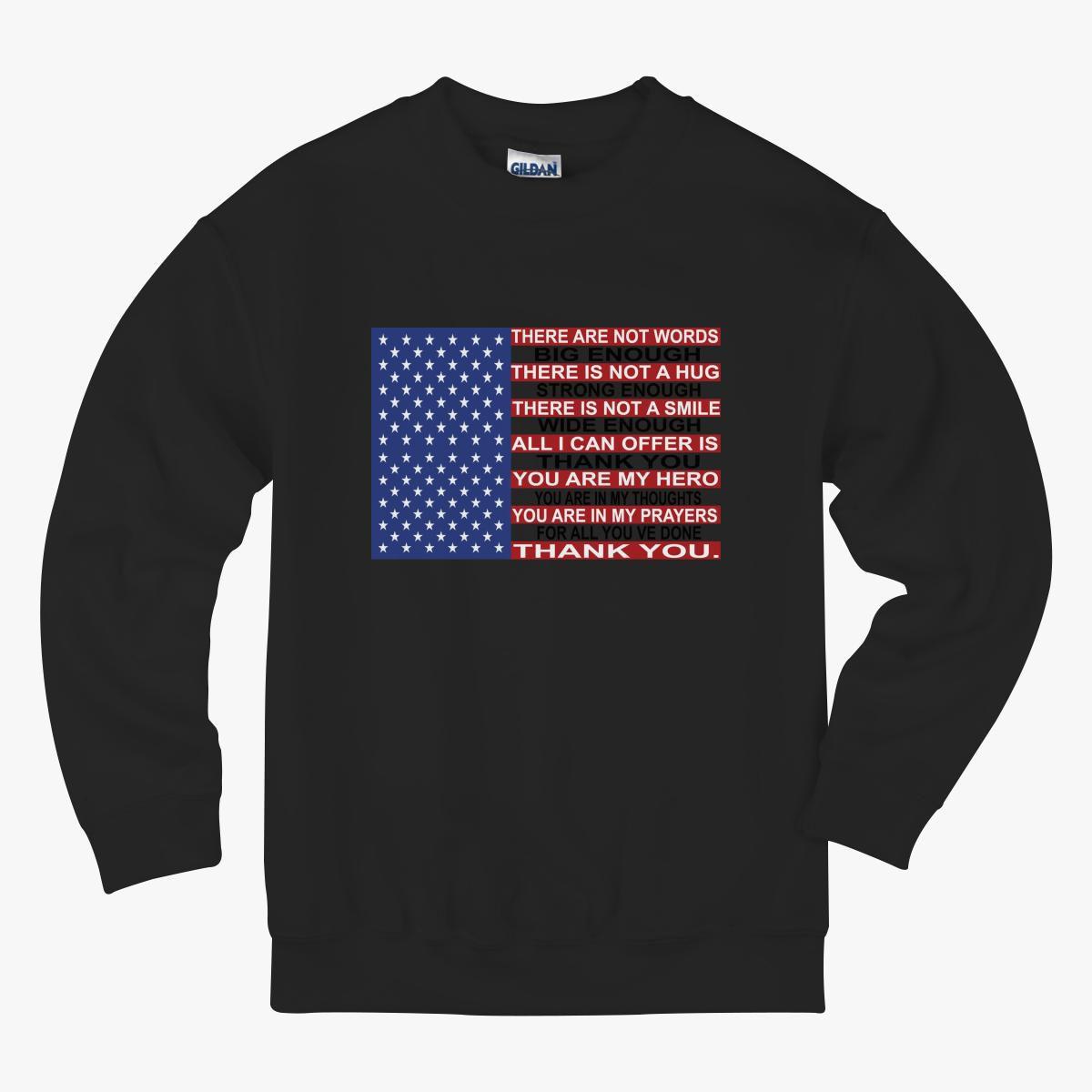 Memorial Day Kids Sweatshirt
