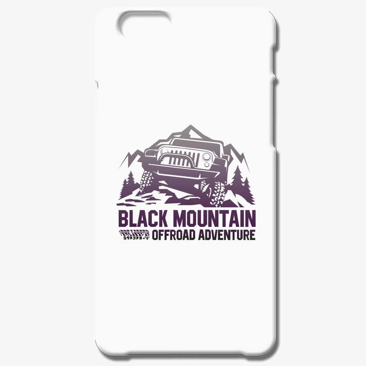 Black Mounthain Offroad Advanture Iphone 6 6s Plus Case