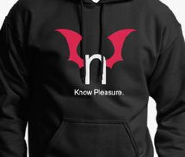 N Hentai Logo Know Pleasure Unisex Hoodie