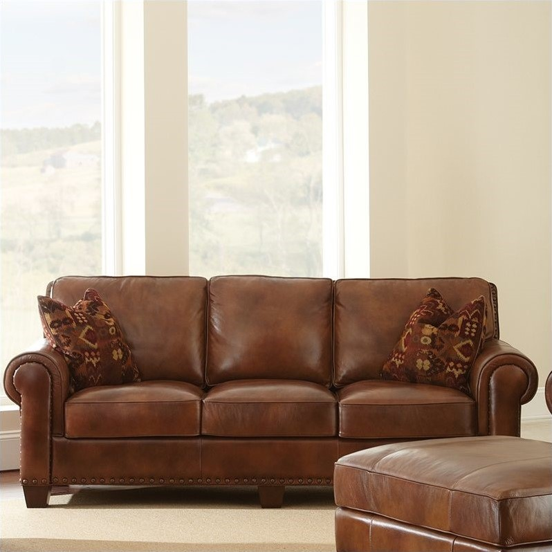 Leather Sofa And Chaise