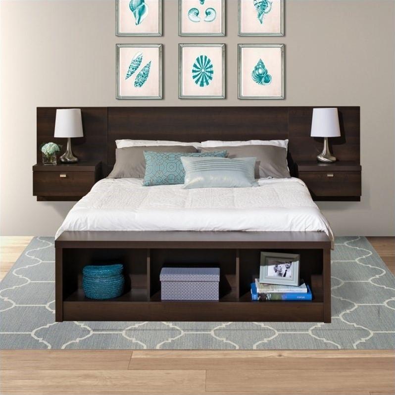 Prepac Series 9 Designer Platform Storage Bed with ...