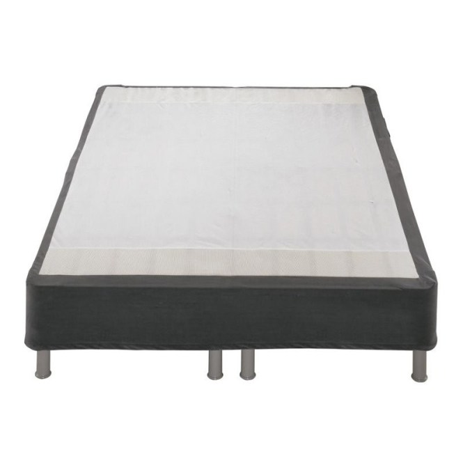 Sierrasleep Btbs Twin Mattress Foundation Metal Riser In Dark Gray
