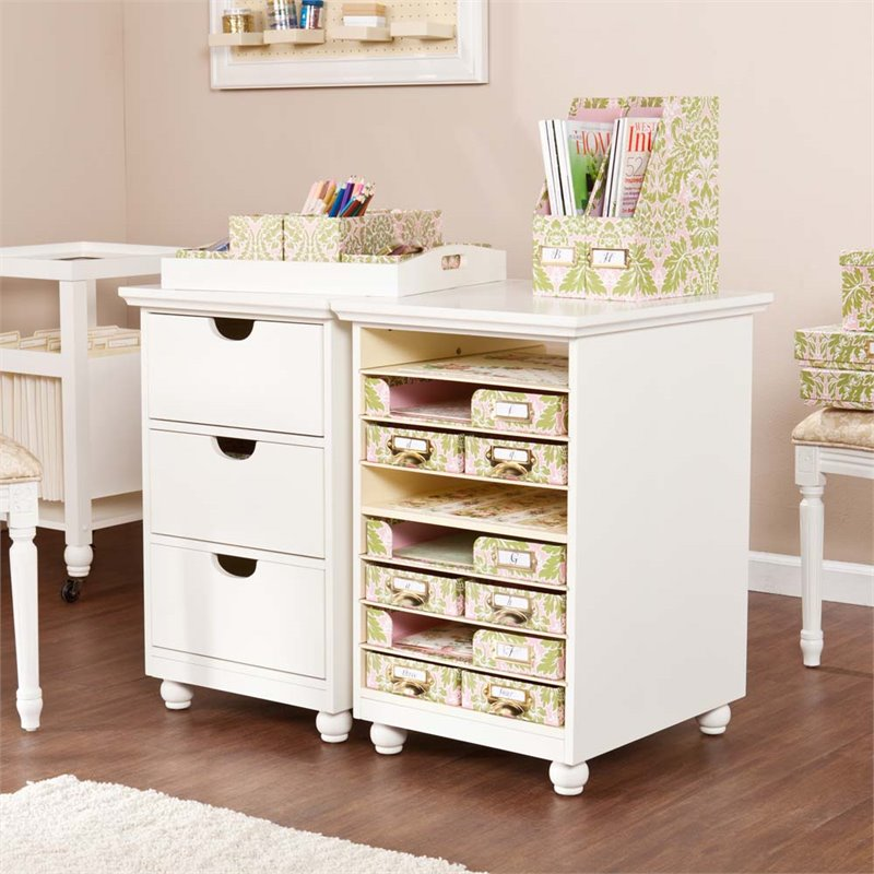 Southern Enterprises Anna Griffin 3 Drawer File Cabinet In