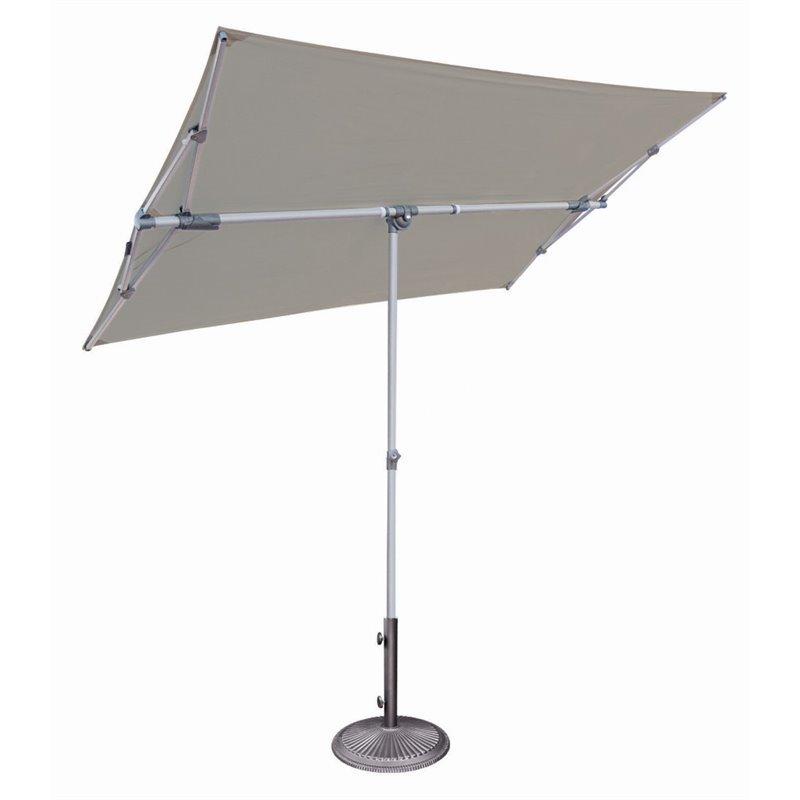 simplyshade capri patio umbrella in stone