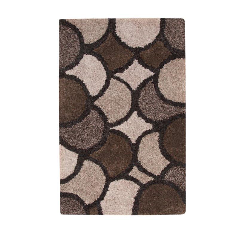 abacasa lifestyle lennox charcoal lt gray brown 8x10 area rug