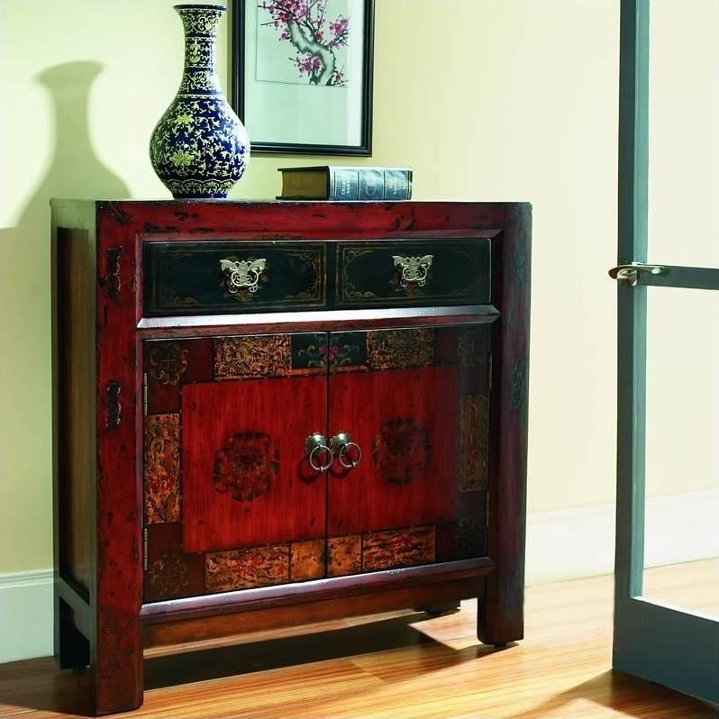 Hooker Furniture Seven Seas Asian Two Door Drawer Hall
