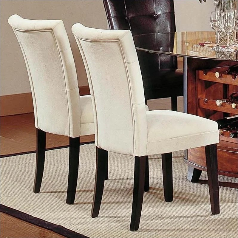Steve Silver Furniture Complaints #27: Dining Dining Chairs Steve Silver Company Matinee Fabric Parson Dining