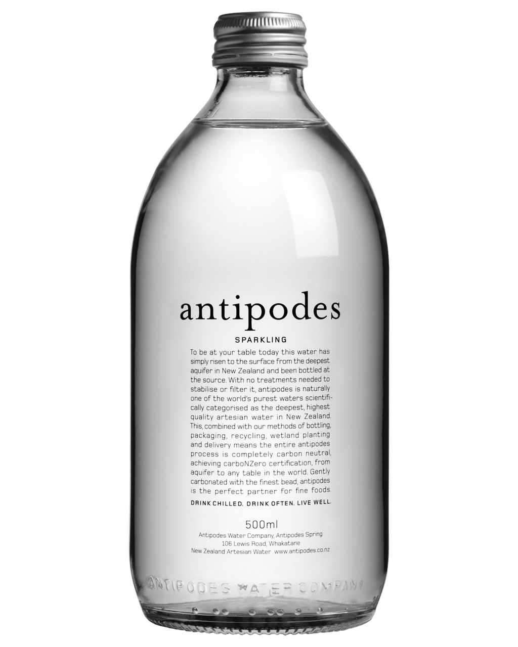 Antipodes Sparkling Water 500mL