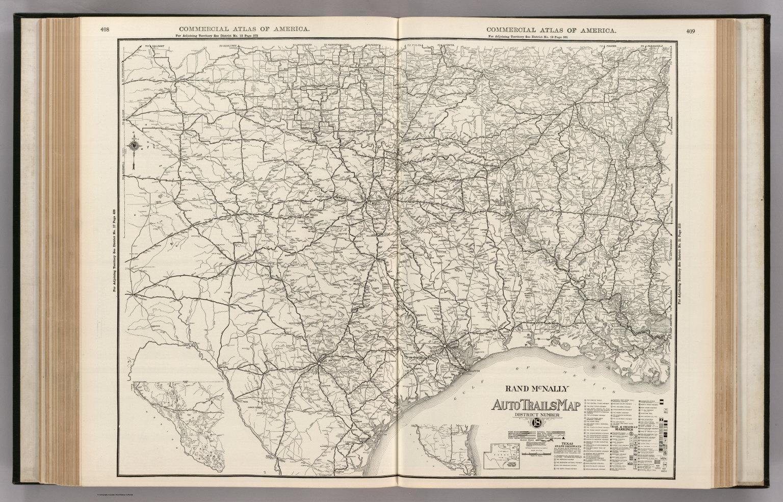 Map Of Louisiana And Texas