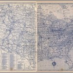 United States Road Map David Rumsey Historical Map Collection