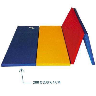 aire d evolution pliable multicolore 200x200x4 cm
