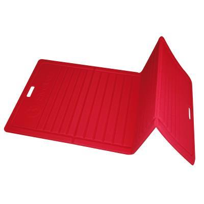 tapis pilates pliable 170 x 70 x 1 3cm rouge