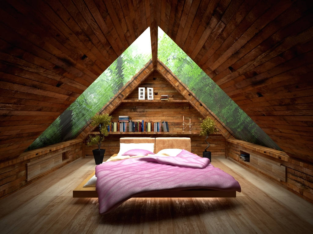 Types Log Cabin Roofs