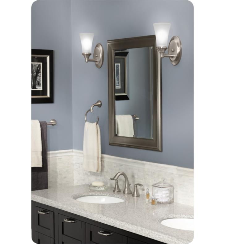 bathroom vanity lighting moen yb2861bn