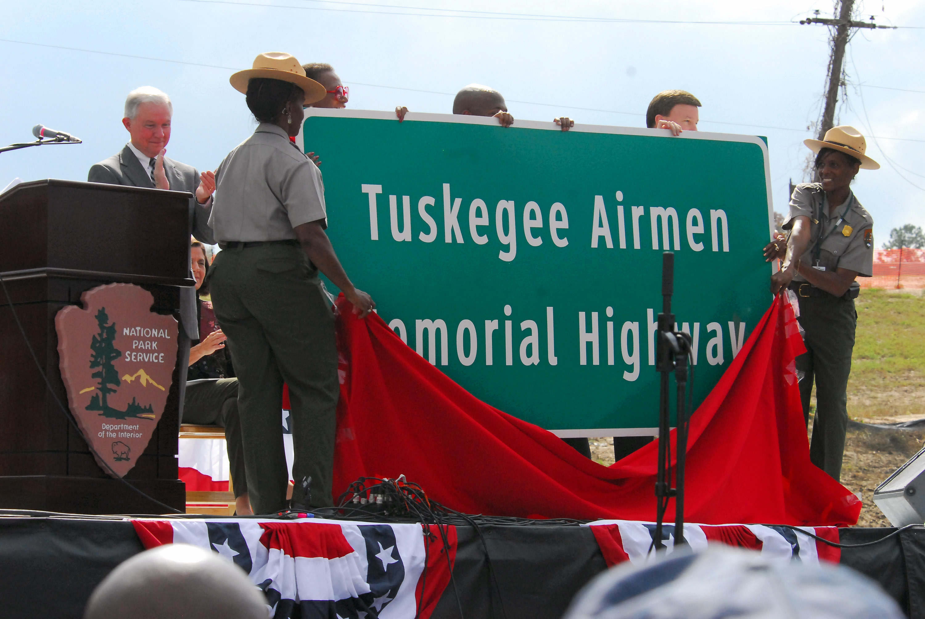 Historic homecoming for Tuskegee Airmen as site opens   U S  Air     Historic homecoming for Tuskegee Airmen as site opens