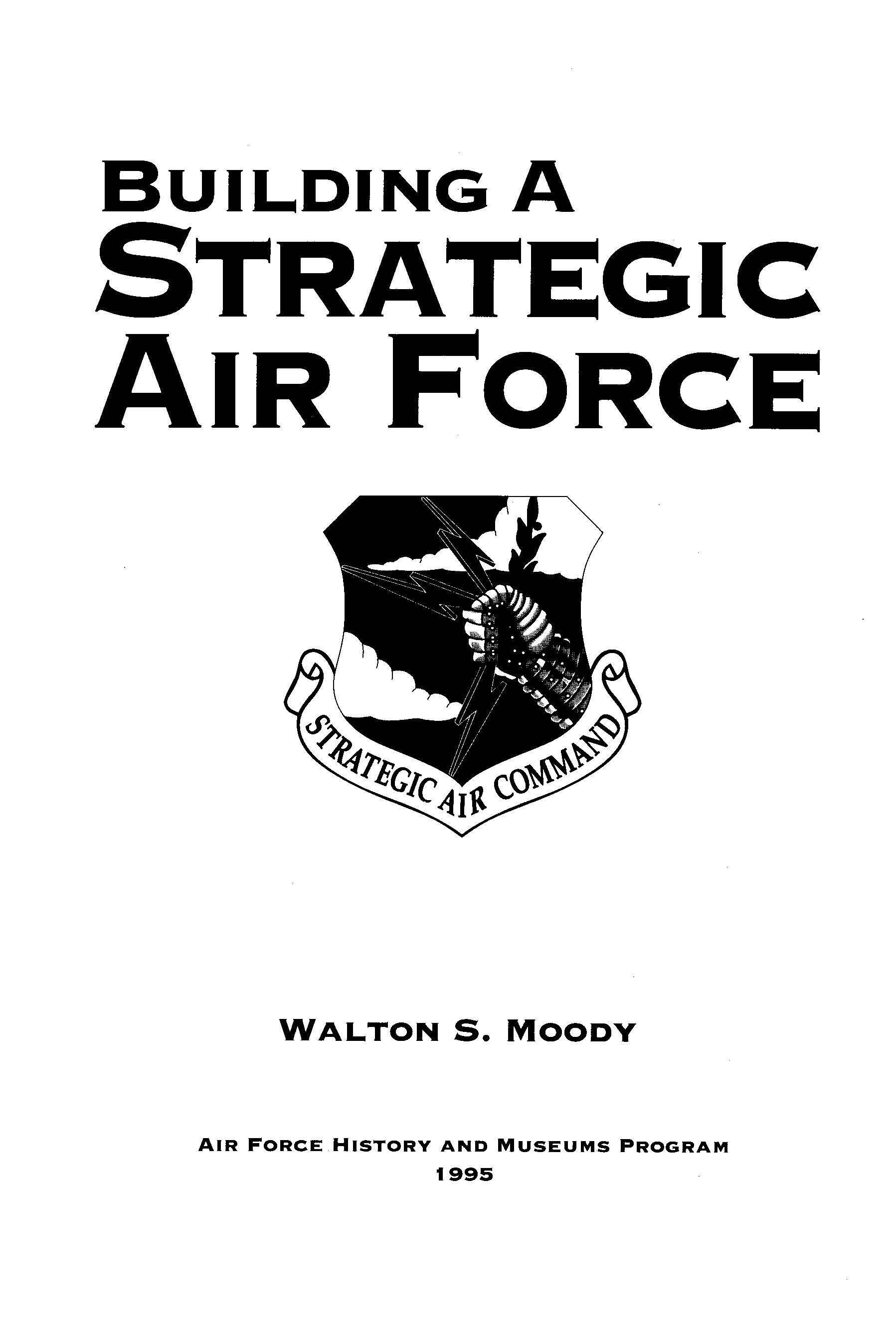 The Emergence Of The Strategic Air Command Gt Air