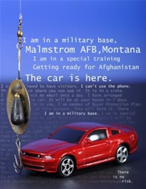 1968 dodge cars » Buyers beware  when online scammers say they are at Malmstrom     Internet scammers pretend to be military personnel desperate to sell  personal vehicles located at installations including