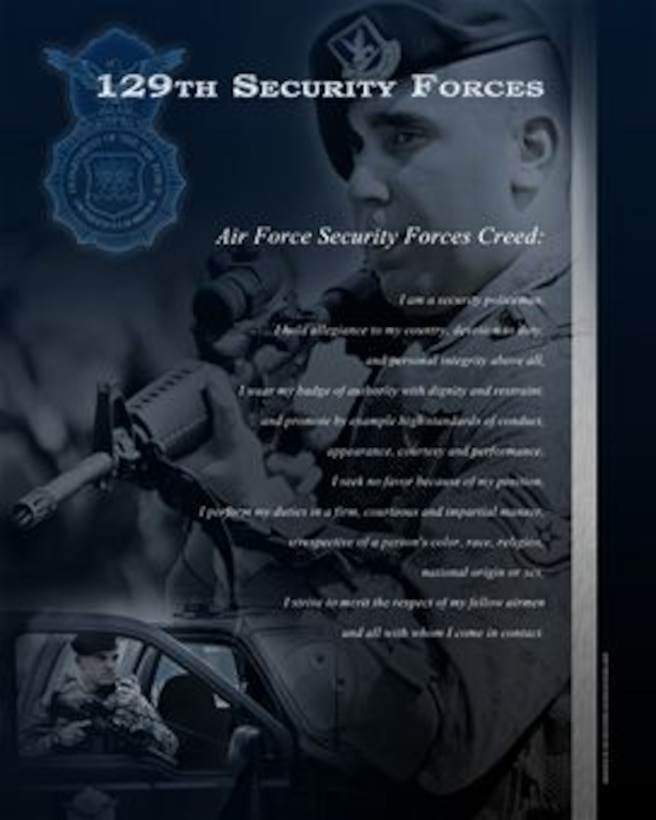 Security Forces Website