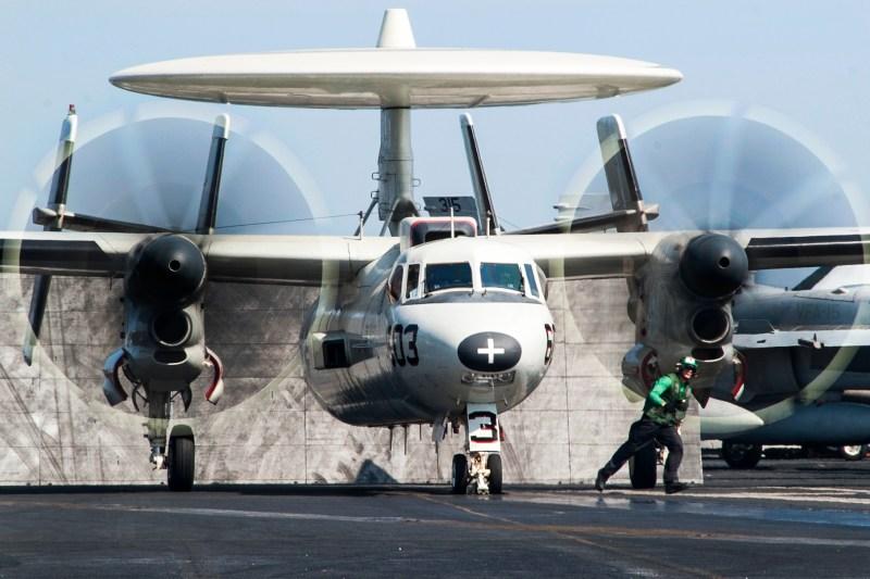 . Navy E-2C Hawkeye