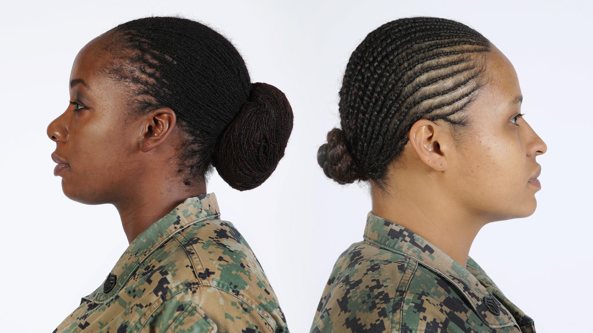 Marine Corps Ball Hairstyles