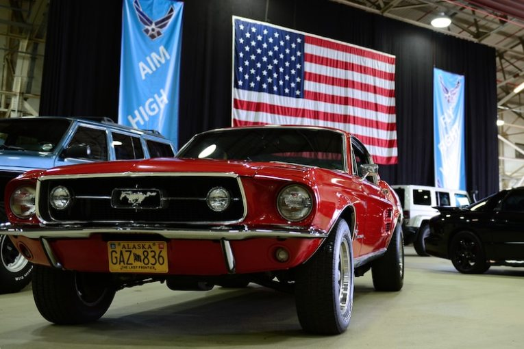1965 ford cars » Got horsepower     p style font size 20px U S  Air Forces in Europe     A 1967 Ford Mustang GT 390 big block  restored by Tech  Sgt