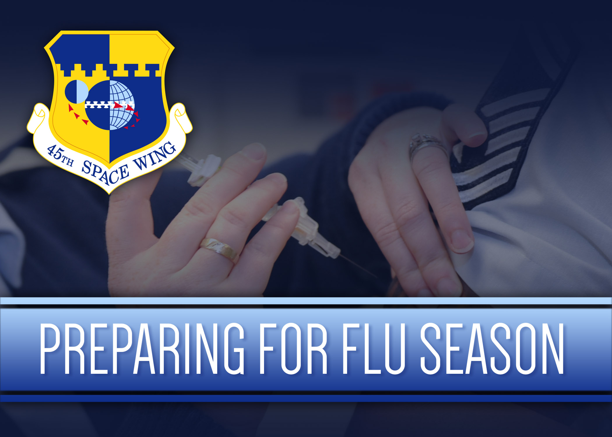 Flu Vaccine Available At Clinic Gt 45th Space Wing