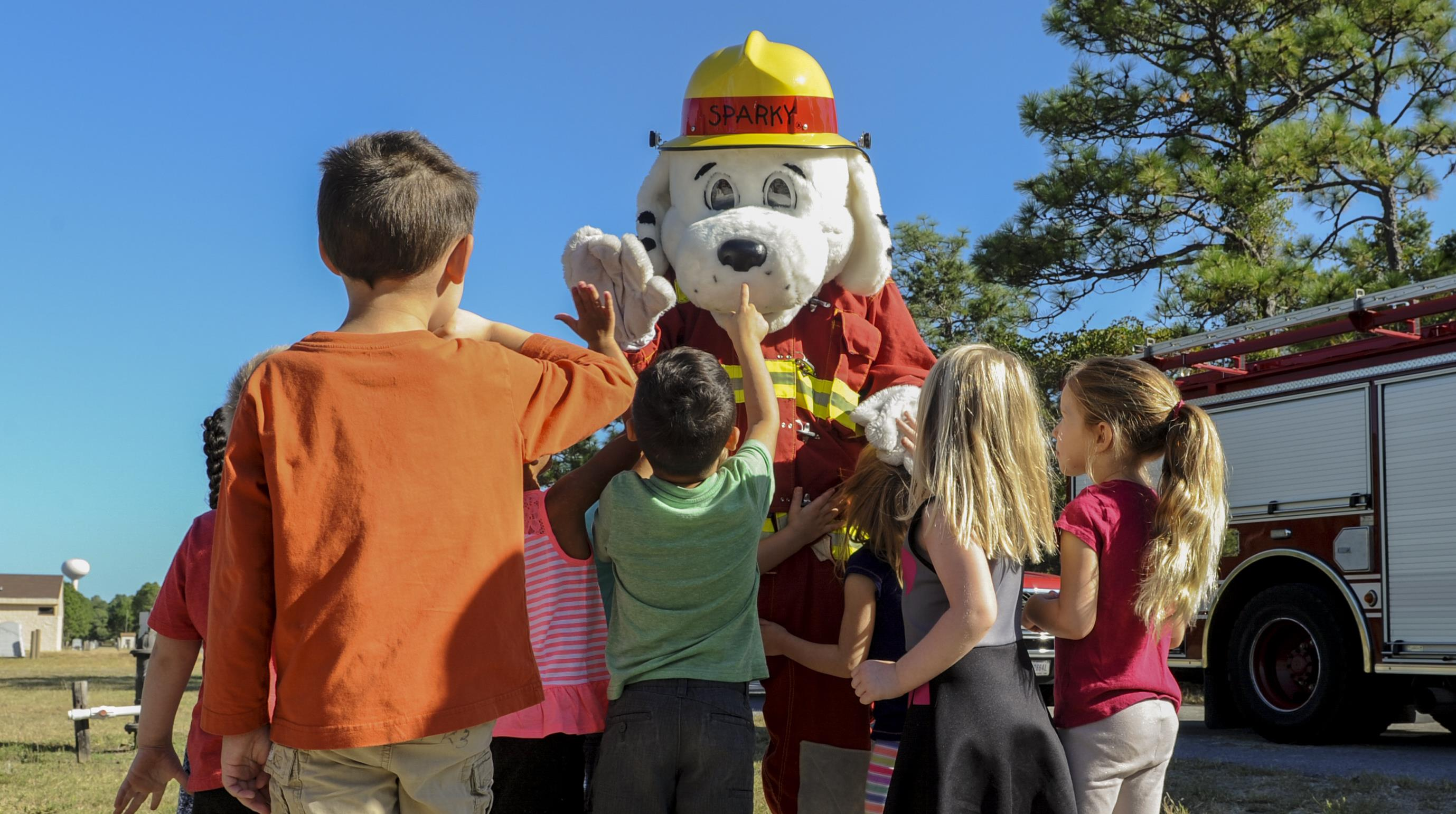Fire Prevention Week Ignites At Hurlburt Field