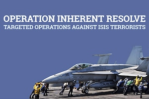 U.S. Central Command continues to work with partner nations to conduct targeted airstrikes in Iraq and Syria as part of the comprehensive strategy to degrade and defeat the Islamic State of Iraq and Syria, or ISIS.