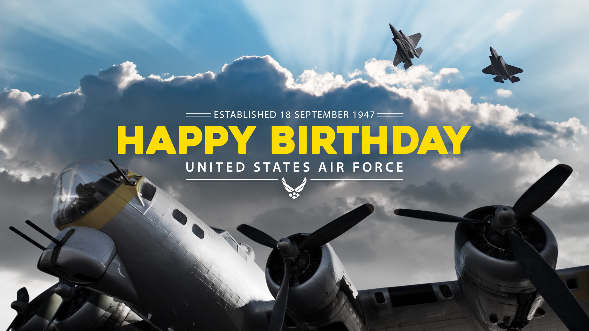 Happy Birthday U S Air Force Hill Air Force Base Article Display