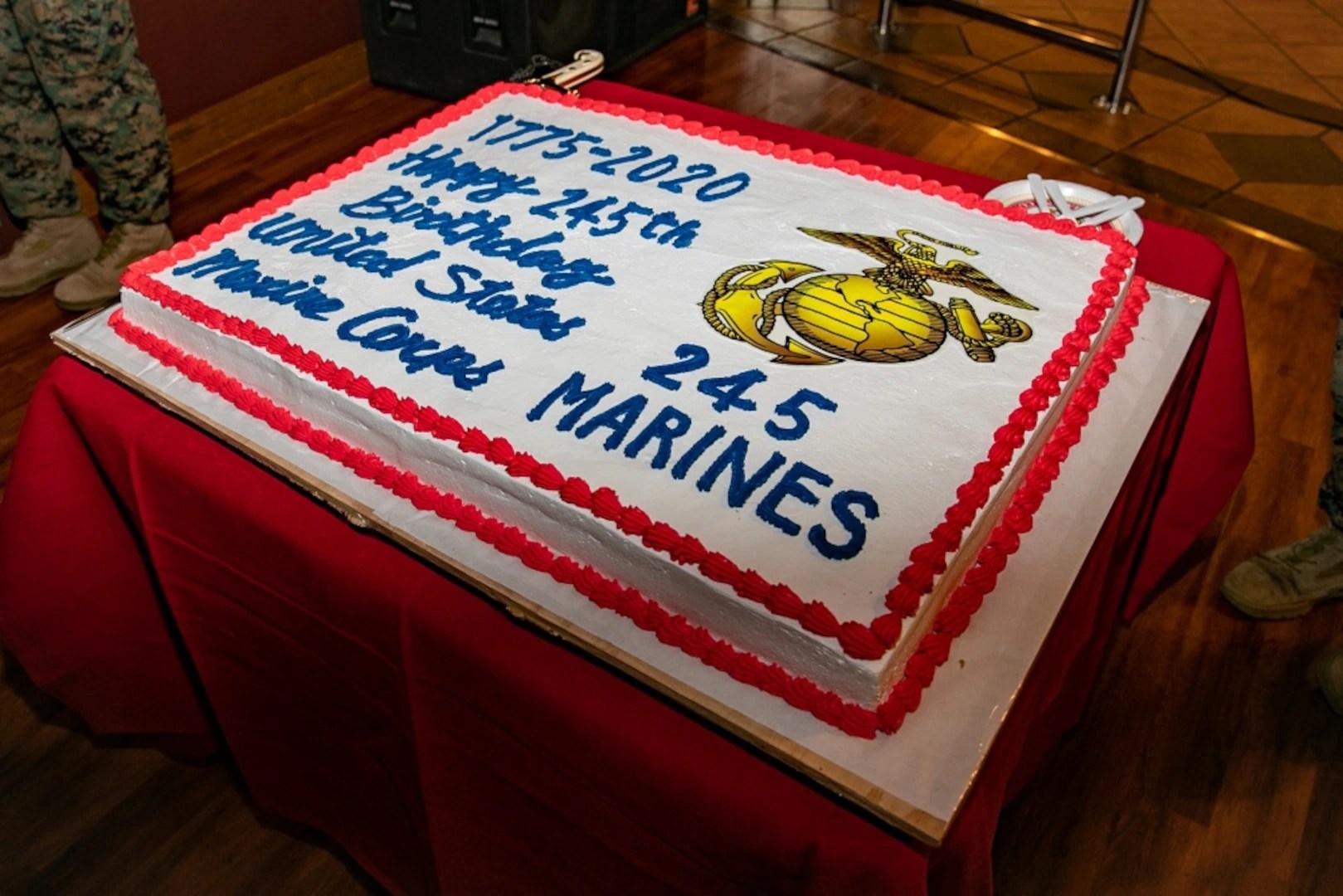 3rd Marine Expeditionary Brigade Commemorates Marine Corps Birthday With Cake Cutting Ceremony Washington Headquarters Services News Display