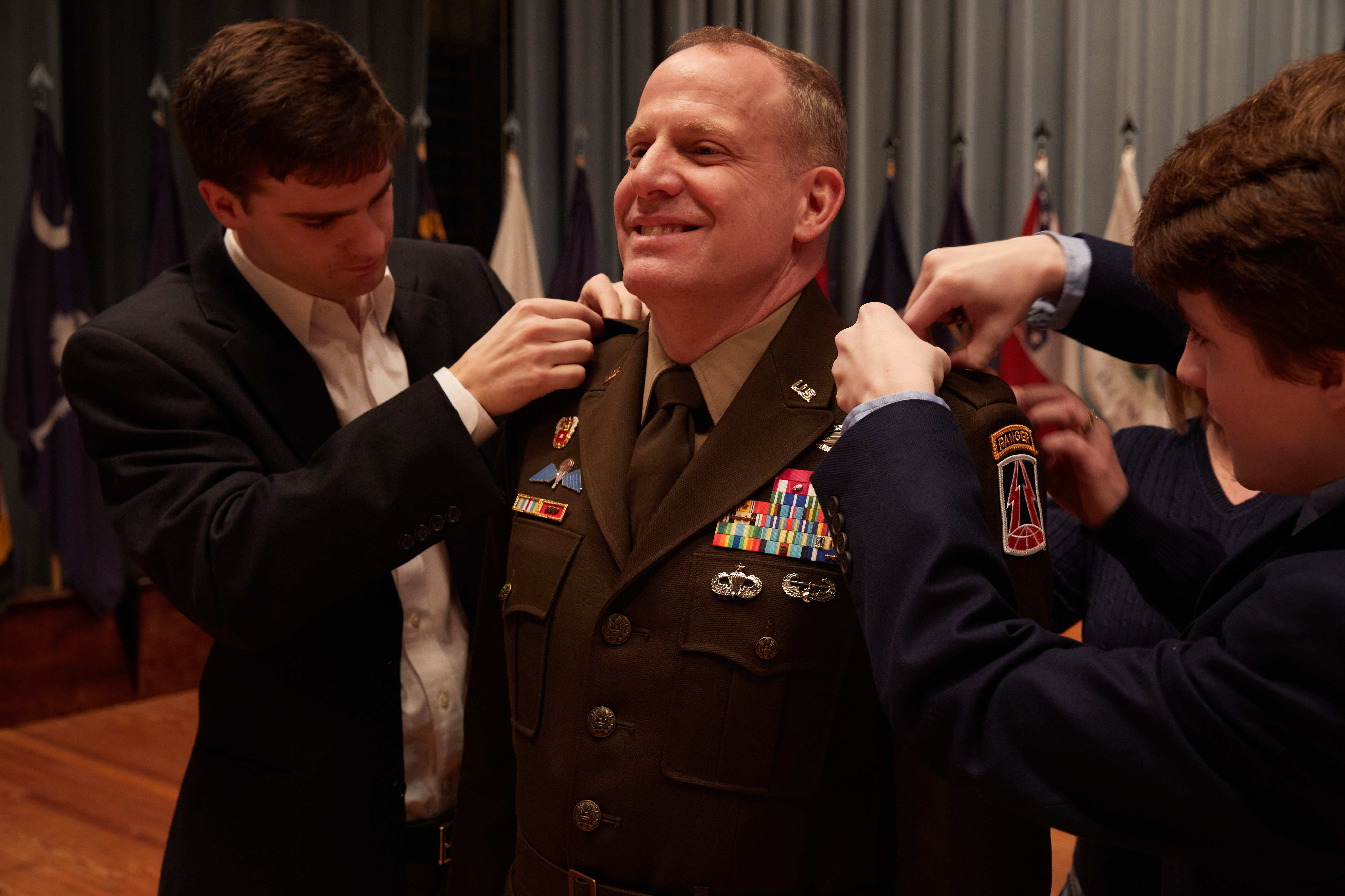 New 335th Signal Command Senior Leader Pins Second Star