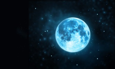 A rare 'blue moon' will arrive on Saturday night. Yes, you'll see it