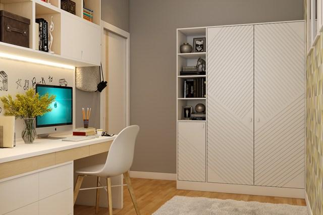 Kendin yap çalışma odası dekorunda bütçenize göre bir çalışma masası yapabileceğiniz çocuklarınız için DIY çalışma alanı fikirleri