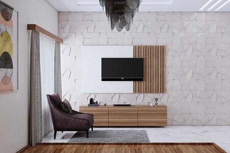 Wallpaper Designs For Living Room Design Cafe