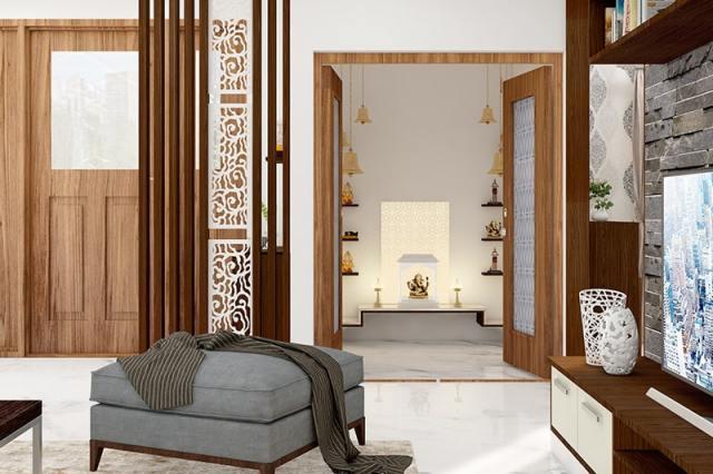 10 Pooja Room Designs for Indian Homes | Design Cafe