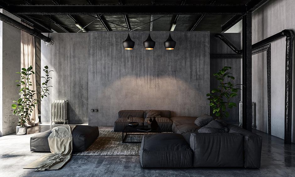 rustic style living room design ideas